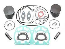 2004-2008 Ski-Doo Gsx Gtx 600 Ho Pistons Bearings Full Gasket Kit Crank Seals