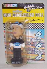 NASCAR Bobble Dobbles Roush Racing MARK MARTIN #6 Pfizer Mini Bobblehead Doll