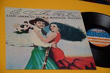 RUMBA SAMBA TANGO WALTZES LP LATINO AMERICAN MUSIC ORIG ITALY 1979 EX C DALLA PO