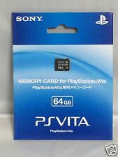 Brand New SONY 64GB PS Vita PS Memory Card From Japan With tracking number F/S