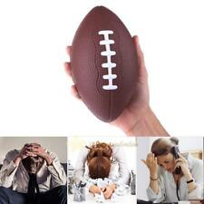 Mini Soft PU Foam Material Anti-stress Rugby Soccer Squeeze Ball Reliever Stress