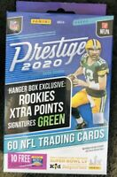 2020 Prestige NFL Football Hanger Box Signatures Green Rc Tua Burrow Herbert ?