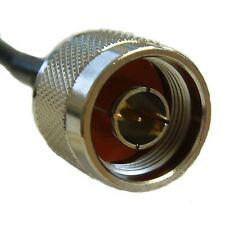 Solwise N Plug Macho + Ángulo Derecho Mmcx Macho 30 cm RG316 Wifi Coletas Inalámbrico