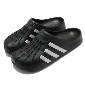 adidas Adilette Clog Black Silver Men Women Unisex Sandals Slides Slipper FY8969