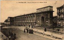 CPA  Montpellier - L'Arc de Triomphe et la Maison d'Arrét   (510938)