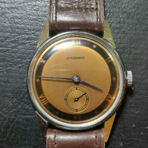 Vintage Junghans cal 80 hand winding mens watch NOS
