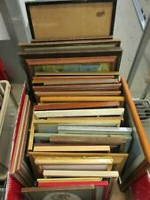 PICTURE FRAMES WITHOUT GLASS JOB LOT TEN IN TOTAL