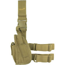 VIPER ADJUSTABLE ARMY DROP LEG WEAPON HOLSTER LEFT HAND  PISTOL HOLDER COYOTE