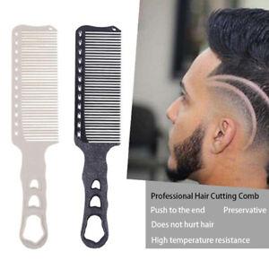 1Pc Cutting Flat Comb Hair Hairdressing Barbers Salon Professional Hair StyA^BI