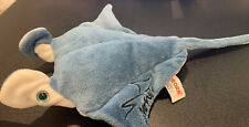 "9"" Manta Ray Aurora 15"" w/tail Plush Soft Toy Stuffed Animal (Seaworld)"