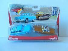 NEW Disney Pixar CARS Mrs The King Tex Dinoco Piston Cup Truck
