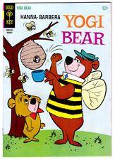 YOGI BEAR #19 in VF+ condition a 1965 Gold Key Hanna-Barbera Silver Age comic