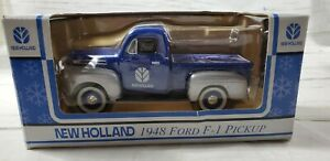 New Holland 1948 Ford F-1 Pickup 1:25 Scale Die Cast Metal NEW IN BOX