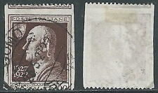 1927 REGNO USATO VOLTA 60 CENT VARIETà - U15