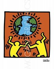 POP ART PRINT KH02 Keith Haring 10x10