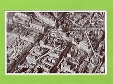 Winston Hotel Aerial View London unused old pc Aero Pictorial Ref C143