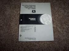 John Deere 540G 640G 740G 548G 648G 748G Skidder Operation & Test Manual TM1599