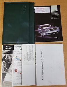 GENUINE JAGUAR X-TYPE HANDBOOK OWNERS MANUAL WALLET 2001-2005 PACK F-839