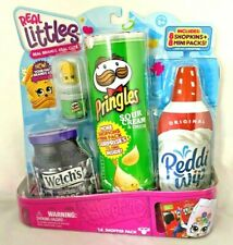 Shopkins Real Littles 'Lil Shopper Pack with 8 Shopkins 8 Mini Packs Exclusives