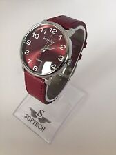 F&MJ626 Burgundy Ladies Watches Women Fashion Picador Quartz Wrist Watch