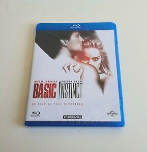 BASIC INSTINCT blu-ray (1992) Michael Douglas Sharon Stone Nuovo