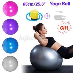 65cm Gym Ball Exercise Yoga Ball Pilates Abs Gym pregnancy