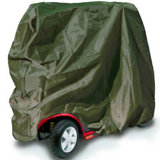 Water Resistant Large Mobility Scooter Cover Heavy Duty Rain Green 147x71x140cm