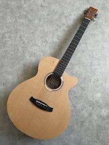 Electro Acoustic Guitar £249 Super Folk / Cedar Top + Mahogany Body Tuner Preamp
