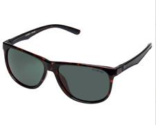 "CANCER COUNCIL Mens ""Glenroy"" Dark Tort Frame & Green Lens Sunglasses - NWT!"