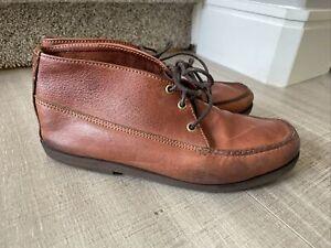 Gokey Company Men's Leather Chukka Boots Size 11
