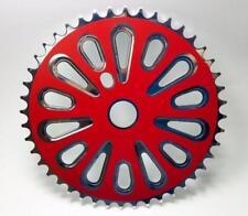 BMX Cruiser ashtabula one piece crankset Chainring 44t 44 Steel Red 1/8