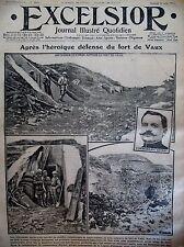 WW1 DEFENSE DU FORT DE VAUX ALPINS A SALONIQUE CAMION BAZAR EXCELSIOR 10/6/1916