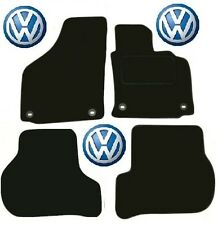 Golf Car Mats MK5 VW Tailored Deluxe Quality fits Petrol & Diesel Oval Clips