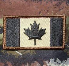 CANADA FLAG CANADIAN MILITARY ARMY TACTICAL MILSPEC COMBAT FOREST IRON ON PATCH