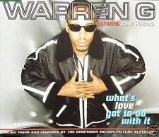 Warren G What's Love Got to Do With It 3 Mixes CD Single