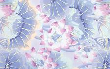 Fat Quarter Kaffe Fassett Lake Blossoms - SKY - Rowan Cotton Quilting Fabrics