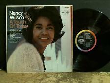 Nancy Wilson une touche d'aujourd'hui LP stereo uk original belle copie!!!
