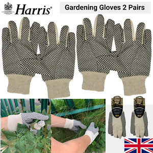 2x Gardening Gloves Ladies Women Thorn Proof Small Medium Hand Garden Cleaning