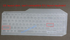 Keyboard Skin Cover Protector for Asus ZX53VW,ZX53VE,ZX53VD,FX53V,FZ53VD ZX73