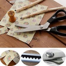 Professional Dressmaking Pinking Shears Fabric Cloth Crafts Zig Zag Cut Scissors
