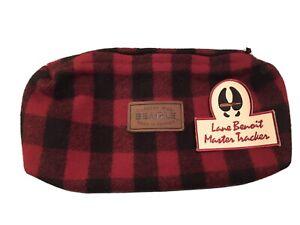 Larry Lane Benoit Master Trackers Beagle Outdoor Wear Wool Belt Utility Bag RARE