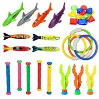 MonQi 28 pieces Summer Fun Swimming Diving Toys - Underwater Sinking Swimming