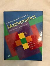 A Problem Solving Approach to Mathematics for Elementary School Teac - Brand New