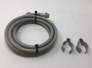 OEM BISSELL BIG GREEN MACHINE 1671 1672 1660 Power Lifter SOLUTION HOSE W/ CLIPS