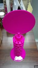 Pink Lollipop and/or Cake Pop Display Tower With Header (Holds Up To 80 Pops)