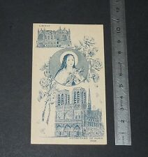 CHROMO 1945 IMAGE PIEUSE CATHOLICISME HOLY CARD STE THERESE ENFANT JESUS