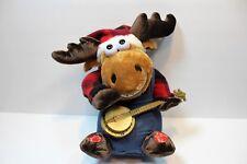DanDee Dan Dee Grandma Grandpa Got Run Over by a Reindeer Moose Animated Plush