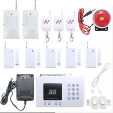 Kit allarme sicurezza antifurto casa sensori porte finestre wireless sirena
