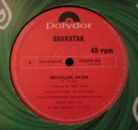 """SHAKATAK ~ Brazilian Dawn ~ 12"""" Single"""