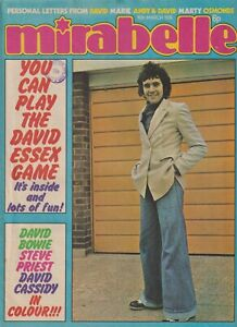 MIRABELLE (16th March 1974) The Sweet David Essex David Cassidy David Bowie